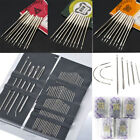 Craft Sewing Needles Machine Threading Curved Hand Embroidery Needles For Singer