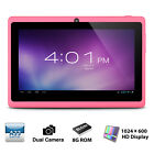 Q88H A33 7 Zoll Quad Core Tablet PC Android 4.4 WVGA Screen 512MB+8GB WiFi BT H