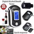 Digital Alcohol Portable Breathalyser Breath Tester Blue LCD Breathtester KU