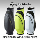 TAYLORMADE WP-3 Series Golf Caddy Bag 3Color Tour Cart Black White Lime A_r