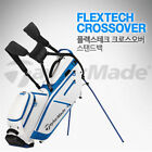 TAYLORMADE FLEXTECH CROSSOVER 2 Color Stand Golf Caddy Bag Tour Carry Cart A_r