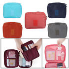Womens Travel Toiletries Makeup Cases Organizer Hanging Storage Wash Zipper Bag