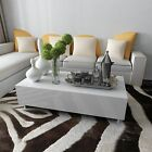 New White Coffee Table High Gloss Square Modern Contemporary Living Room UK