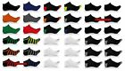 6 Pack Elite Collection Men's Low Cut Cool No Show Ankle Socks Black Lot 10-13