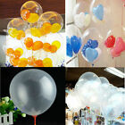 "Wholesale 20/50/100Pcs Transparent Latex Balloons 10"" Wedding Party Decor Supply"