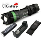 T6 waterproof Zoomable Focus 18650 LED Flashlight Lamp Bulb Torch Light