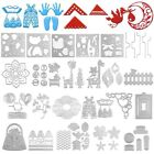 DIY Matel Cutting Dies Stencil Scrapbooking Embossing Album Paper Card Crafts