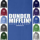 The Office DUNDER MIFFLIN Hoodie Dwight Schrute Steve Carell Sitcom Sweatshirt