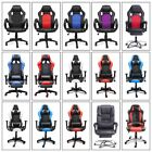 leather gaming chair - Gaming Chair Office Executive Ergonomic Armchair Computer Desk Racing High Back
