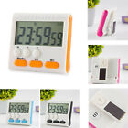 Large LCD Digital Kitchen Cooking Timer Count Down Clock Alarm Magnetic helper