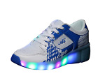 Kids Flash Jazzy Junior Girls Boys Light Roller Heelys Skate LED Shoes Size <br/> suggest buy one size bigger than usual