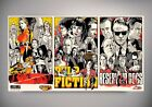 Pulp Fiction, Kill Bill, Reseviour Dogs Art Poster| SIZES A4 to A0 E249