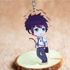 "Keychain Key Finder Anime ""Your Name"" Mitsuha Miyamizu & Taki Tachibana Cartoon"