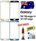 Outer Front Glass Screen Replacement For Samsung Galaxy S6 Edge Plus S7 S7 Edge