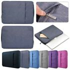 thin denim fabric - Denim Fabric Laptop Sleeve Case Carry Bag Pouch For 14