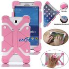 """US Pink Universal Case Kids Safe Shockproof Silicone Cover For 8""""~9"""" inch Tablet"""