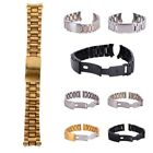 Us Stainless Steel Wrist Watch Bracelet Replacement Metal Clasp Band 18-24mm