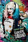 Harley Quinn Suicide Squad physicedelic Poster | Sizes A4 to A0 UK Seller | E172