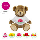 Personalised Name Mothers Day 2019 Charles Teddy Bear Presents Gifts for Mum Nan