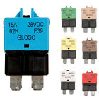 5-30A Automotive Circuit Breaker Blade Fuse 12/24V Resettable For Boat Marine AU
