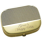 name of diuretic pills - PERSONALIZED CUSTOM GOLD PILL CASE BOX NAME ENGRAVED FREE CUSTOMIZED