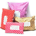 Plastic Polka Dot Printed Post Mailing Shipping Bags Strong Self Seal Wholesale