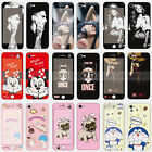 Disney Front + Back Full Screen Tempered Glass Film for Apple iPhone 6S 7 & Plus