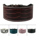 3.0'' Wide PU Leather Big Dog Collars Durable for Medium Large Dogs Pet 5 Colors