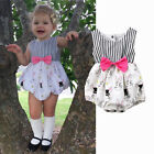 Newborn Toddler Baby Girls Easter Bunny Clothes Romper Bodysuit Sunsuit Outfits