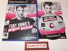 SONY PLAYSTATION 2 PS2 VIDEO GAMES CASED WITH MANUALS ALL T&T