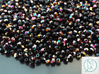 120+ Pieces Czech Glass 3mm Fire Polished Facelet Beads Jewelry Making 49 Colors
