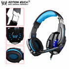 EACH G9000 3.5mm Gaming Headphone Microphone USB Headset LED Light For PS4 LJY