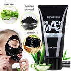 Black Peel-off Charcoal Face Mask Deep Skin Cleansing Blackhead Remover 60ml