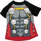 Marvel Avengers Thor Boys' Costume Shirt With Cape