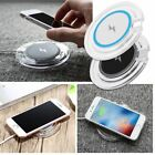 Qi Wireless Charger Dock Pad Mat For iPhone X 8 Samsung Note 8 S7 Edge S8 Plus