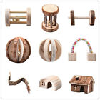 Wooden House Villa Cage Exercise Toy for Hamster Mouse Hedgehog Rat Guinea Pig
