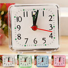 Bed New Trip Small Well Morning Clock Square Beep Travel Portable Alarm Compact