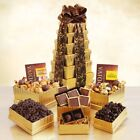 Ultimate Golden Godiva Tower Gift Basket