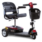 Pride Mobility Go-Go LX with CTS Suspension 3-Wheel Travel Mobility Scooter