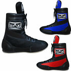 Leather Boxing Boots Shoes Long Anklet Mesh Boots JUNIORS & ADULTS ZstarAX