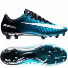 Nike Mercurial Vapor XI FG Soccer Cleat Fire and Ice (831958-414) Blue