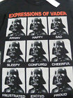 Star Wars Expressions of Vader T-Shirt Mens - Authentic Mad Engine $8.5 USD