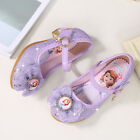 Kids Toddler Girls Princess Sofia the First Crystal Shoes Cinderella Dress Shoes