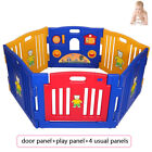 Large Foldable Plastic Baby Playpen Indoor& Outdoor With Optional Playmats