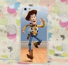 Toy Story Characters Woody Buzz Lightyear case for iPhone Samsung Huawei models