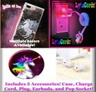 Best Case star Earbud Cases - Unicorn Light Up Glitter Case Cord Plug Charger Review