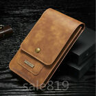 Premium Leather Belt Clip Carrying Case Holster Pouch Outdoor Bag For Cell Phone