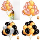"12"" Pearl Latex Balloon Gold Party Thickening Birthday Wedding Party Supplies"