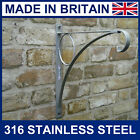 12 inch Stainless Steel hanging basket bracket lantern for up to 16