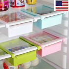 Pay no heed Kitchen Fridge Freezer Space Saver Organizer Storage Rack Shelf Holder NEW